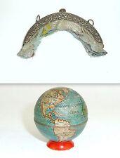 Ausgefallener Taille-Crayon Globe Um 1930 & Fermeture à 1900
