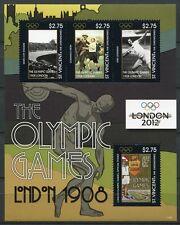 St. Vincent 2012 Olympiade Olympics London Kleinbogen ** MNH