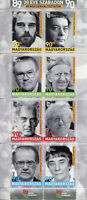 Hungary Famous People Stamps 2019 MNH Freedom Regime Changers Writers 8v M/S