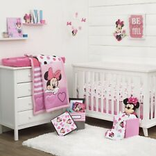 Minnie Mouse Loves Dots 3-Pcs Crib Bedding Discontinued - See Details
