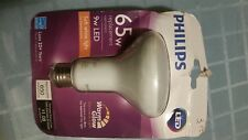 5 Philips Phillips 65w Replacement 9w LED Soft White Light Bulbs Dimmable