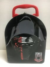 STAR WARS Force Awakens  Lunch Box Kylo Ren Embossed Metal Tin Arch -  Brand New