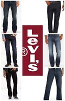 NEW MENS LEVIS 527 ADVANCED SLIM BOOTCUT JEANS PANTS MANY COLORS ALL SIZES