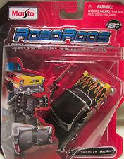 Maisto RoboRods Urban Robots 56 Chevy BelAir w/Flames Transformer Vehicle New