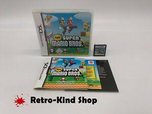 New Super Mario Bros. - Nintendo DS Spiel in OVP mit Anleitung, komplett