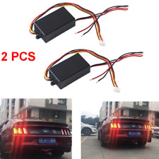 12V DC Car Turn Signal Light 3-Step Sequential Dynamic Chase Flash Module Boxes