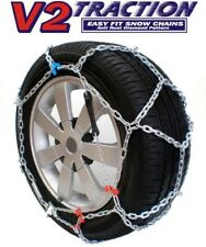 Snow Wheel Chains Brand New V2 Traction Diamond Pattern Size 100