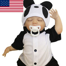 "US 18"" Handmade Reborn Panada Doll Baby Real Looking Vinyl Silicone Newborn Boy"