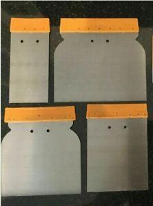 METAL PUTTY SPATULA SET SMALL-LARGE  Knife Scraper/Crack Filler/Plaster/Drywall