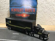 Custom Knight Rider Semi Truck Pair With YOUR Hot Wheels KITT  🇺🇸seller