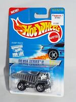 Hot Wheels 1996 Silver Series II #1 Dump Truck Chrome w/ Chrome Bed ORSBs