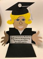 Graduation Girl Handmade Gift Card or Money Holders