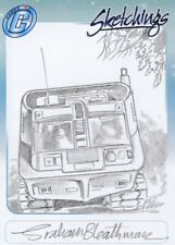 UFO Rare Graham Bleathman / Shado Mobile Sketch Card by Cards Inc.
