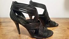 """Tory Burch """"Liv""""  shoes in genuine leather, black 7.5"""