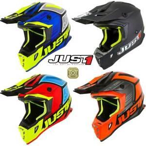 Just1 Motocross Helmet J38 MX Helmet Dirt Bike Off Road Quad Bike ACU Gold Adult