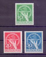 Berlin 1949 - Währungsgeschädigte MiNr 68/70 postfrisch - Michel 350,00 € (557)