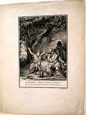 Eau Forte d'après Moreau, Illustration de La Henriade