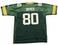 Men's Reebok Donald Driver #80 Green Bay Packers Jersey Sz XL NFL Football GUC