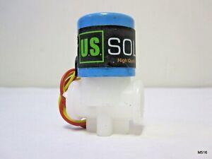 """U.S. Solid 1/4"""" Solenoid Valve DC 12V"""