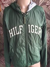 Tommy Hilfiger Spell Out Bomber  XL Jacket  Men's 90s Vtg
