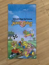 Muppet Babies McDonalds Happy Meal Bag New 1990 Muppets Kermit Piggy
