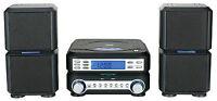 NAXA MINI HOME MICRO COMPACT SHELF SYSTEM w/ STEREO RADIO&CD PLAYER NS-438 NEW