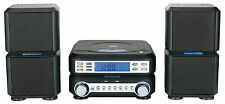 NAXA MINI HOME MICRO COMPACT SHELF SYSTEM w/ STEREO RADIO&CD PLAYER NS-438 NEW