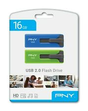 pny 16gb usb flash drive 2 pack