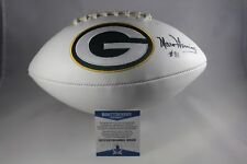 c73f62c8e9a Green Bay Packers Beckett NFL Original Autographed Football Balls ...