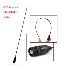 """14.21"""" BNC Male Antenna for Uniden BC125AT BC75XLT BC95XLT BC125AT Scanner Radio"""