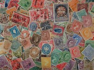über 1000 alte Briefmarken Alle Welt meisst Klassikwerte gutes Lot  x078
