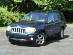 2004 Jeep Grand Cherokee 4WD LIMITED 1 OWNER LOW 63K MILES NAVIGATION!!