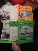 Fac Similé 1995 Ancien Camion BERNARD 9 & 26 Tonnes
