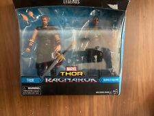 """THOR & VALKYRIE 2-Pack 6"""" Figures Marvel Legends THOR RAGNAROK TARGET Exclusive"""
