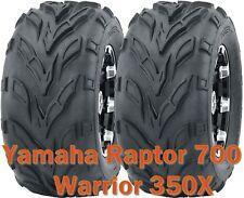 Yamaha Raptor 700 Warrior 350X ATV front tires set 22x7-10 22x7x10