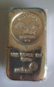 Silberbarren umicore 1kg 1000g Feinsilber fine silver 999 Andorra 30 Diners 2012