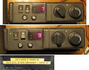 MCX100 D33 SES/police Privacy radio  BT1 VK VL