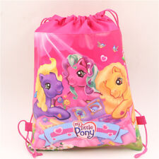 Kids My Little Pony Pink PE Gym Sport Swimming Dancing Draw String Bag