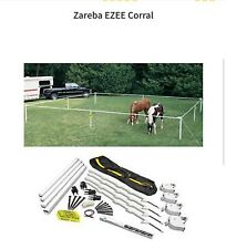 portable horse corral by   zareba ezee Corral. New. Never used  in original bag