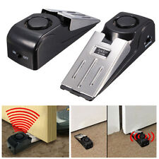 Door Stop Alarm Wireless Home Travel Security System Portable Safety Wedge Alert