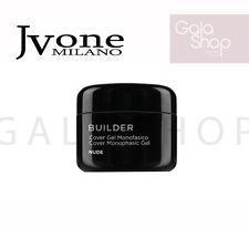 JVONE BUILDER COVER GEL MONOFASICO NUDE RICOSTRUZIONE COLATA NAILS 15ML