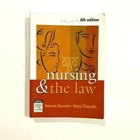 Nursing and the Law by Mary Chiarella, Patricia Staunton (Paperback) 6,e