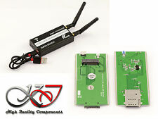 Adaptador M2 a USB para Módulo M.2 LTE WWAN - Ranura SIM 3G 4G