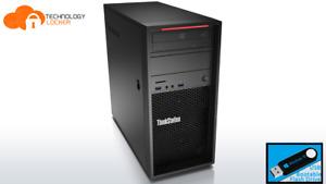 Lenovo ThinkStation P300 Intel Xeon E3-1276 V3 @3.60Ghz 8GB 512GB SSD