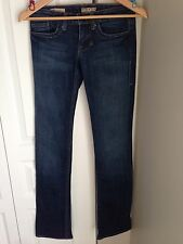 WILLIAM RAST  SADIE Medium Wash Jeans SZ 24 Celebrity Fav! Slimming Straight Leg