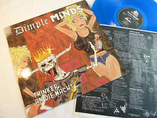 DIMPLE MINDS - TRINKER AN DIE MACHT - BLUE VINYL INCL LYRICS/OIS