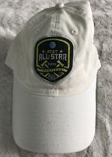 MLS 2014 All Star Game Portland Timbers Adidas White Relaxed Fit Adj. Hat Cap