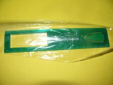 School Kids 8 inch Ruler Clear Green Ruler, Plastic Ruler Family Search SEALED