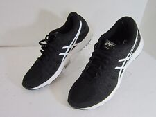 Unisex Asics gel Nitrofuse running athletic Men's Size 7 Women's 8.5 Black NWOB