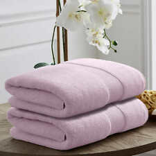"Set of 2pcs Loft by Loftex Luxe Towel Set, Bath Towels 100% Cotton 30"" x 58"""